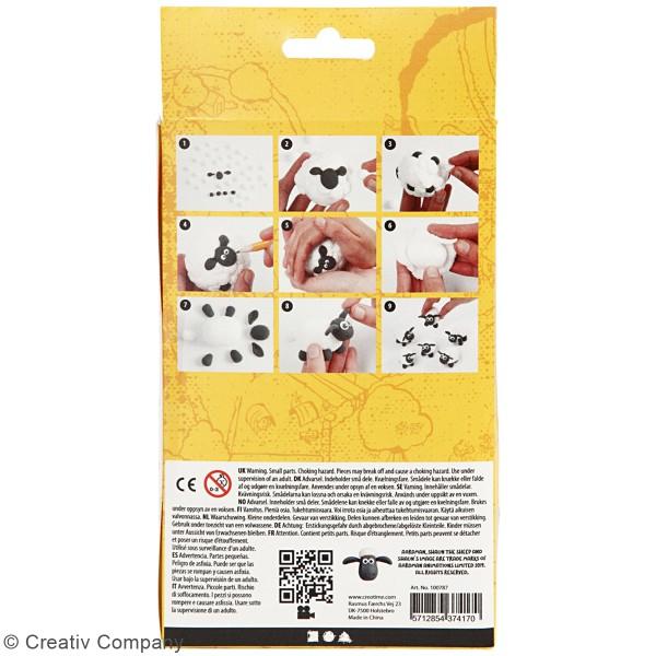 Kit modelage Silk Clay Shaun le mouton - Mini jeu de quilles - Photo n°4