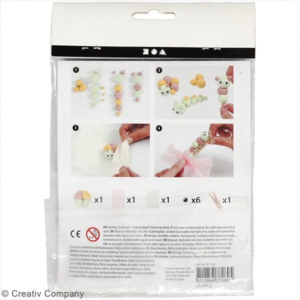 Kit créatif modelage Silk Clay - Papillon - Photo n°3