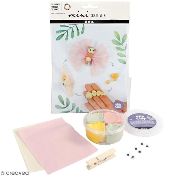 Kit créatif modelage Silk Clay - Papillon - Photo n°1
