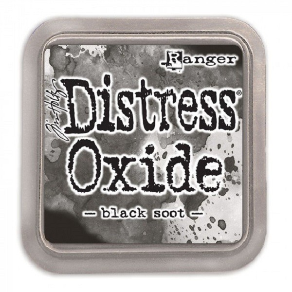 Encreur Distress Oxide - Black soot - Photo n°1