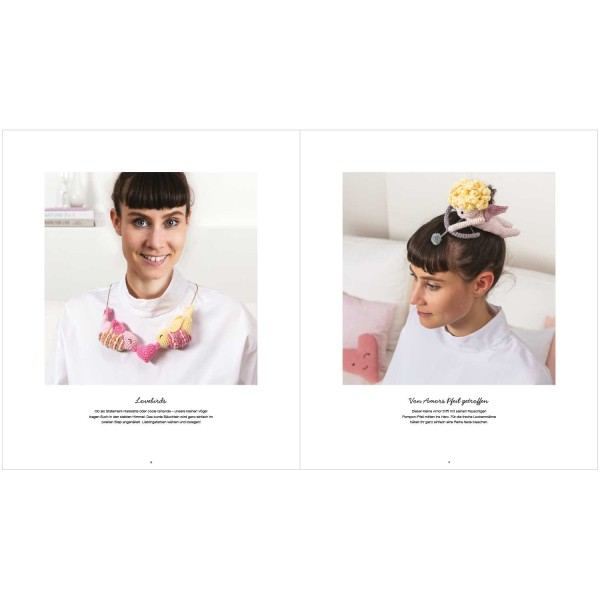 Livre crochet Ricorumi - It must be love - 10 modèles - Photo n°5