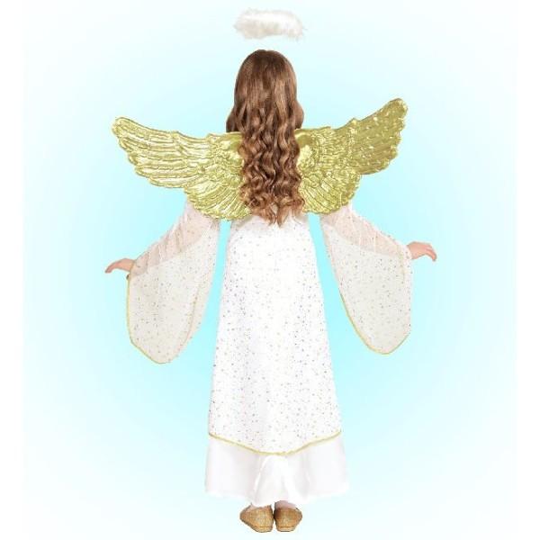 Déguisement ange voilé - 5/7 ans (sans ailes) - Photo n°2