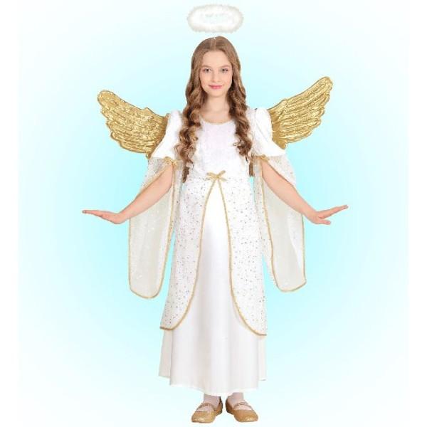 Déguisement ange voilé - 5/7 ans (sans ailes) - Photo n°1