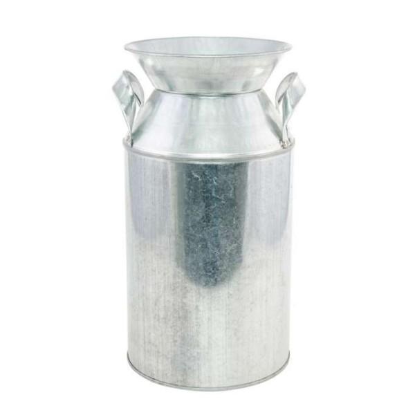 Pot à lait métal avec poignées Ht 25 cm - Photo n°1