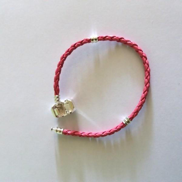 bracelet cuir 17cm