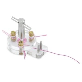 Outil de création de spirale en fil d'alu 0,8 à 1mm