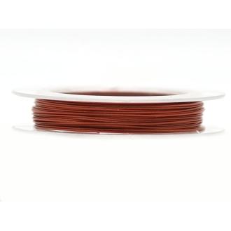 9 M d'Acier Câblé Rouge Indien 0.38 mm