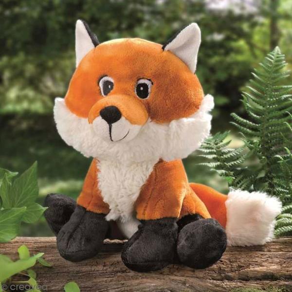 Peluche à rembourrer - Renard Foxy - 23 cm - Photo n°1