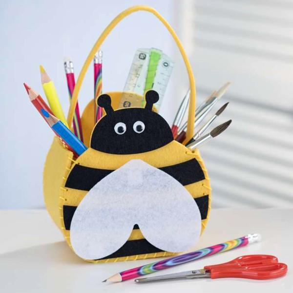 Kit feutrine - Petit sac abeille - Photo n°2