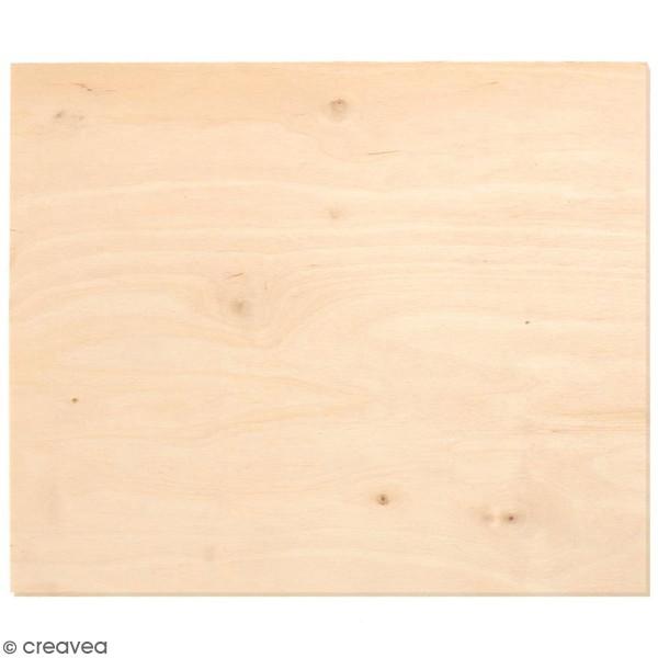 Plaque de bois contreplaqué 25 x 50 cm - 3 mm - 1 pce - Photo n°1
