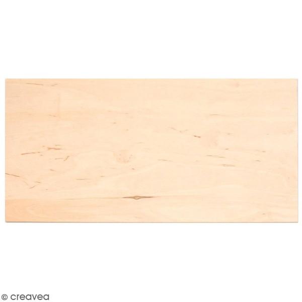 Plaque de bois contreplaqué 25 x 30 cm - 4 mm - 1 pce - Photo n°1