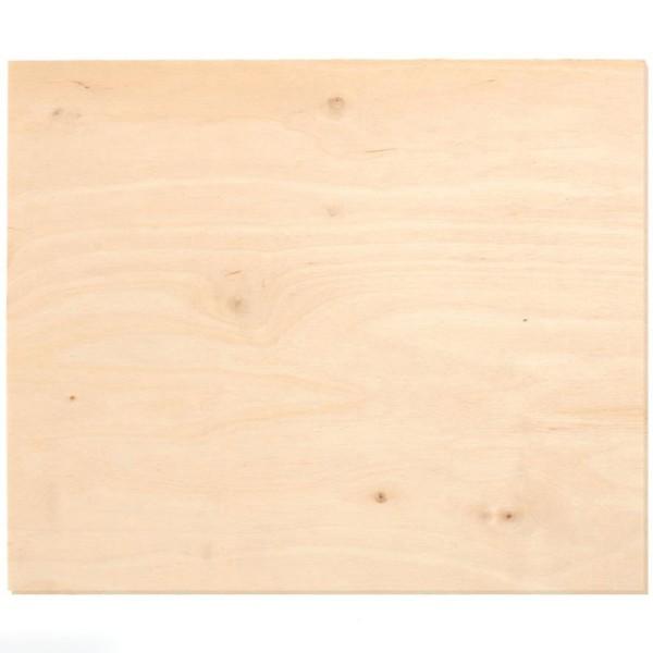 Plaque de bois contreplaqué 25 x 50 cm - 4 mm - 1 pce - Photo n°1