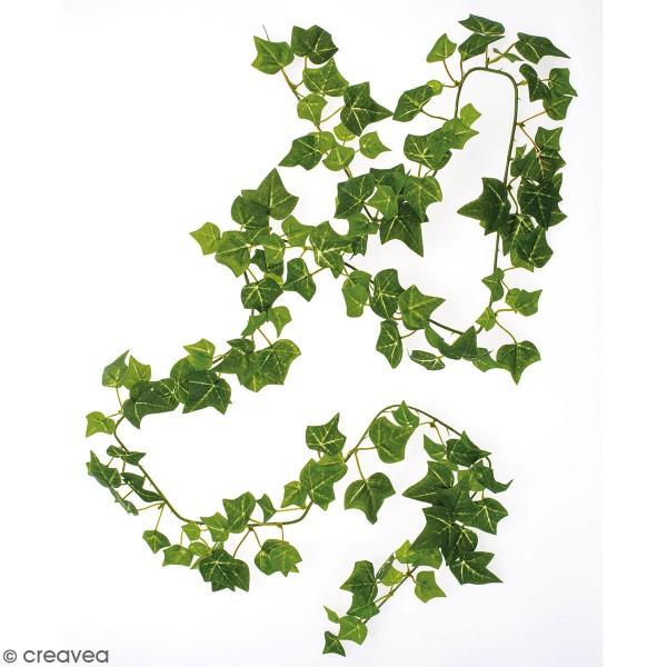 Guirlande de feuilles artificielles - Lierre - 165 cm - Photo n°1