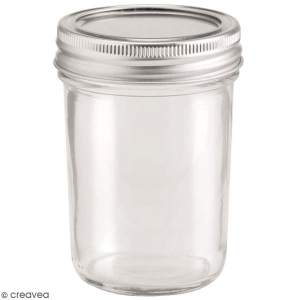 Bocal en verre avec couvercle - 200 ml - Photo n°1