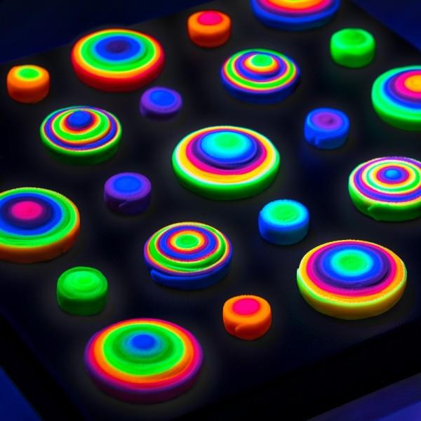 Pâte Fimo effect Néon Violet 601 - 57 gr - Photo n°3