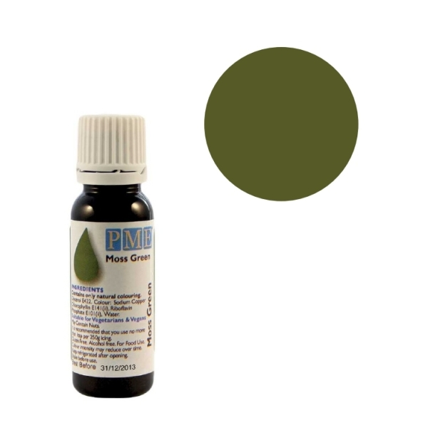 Colorant naturel liquide - vert mousse - 25 gr - Photo n°1