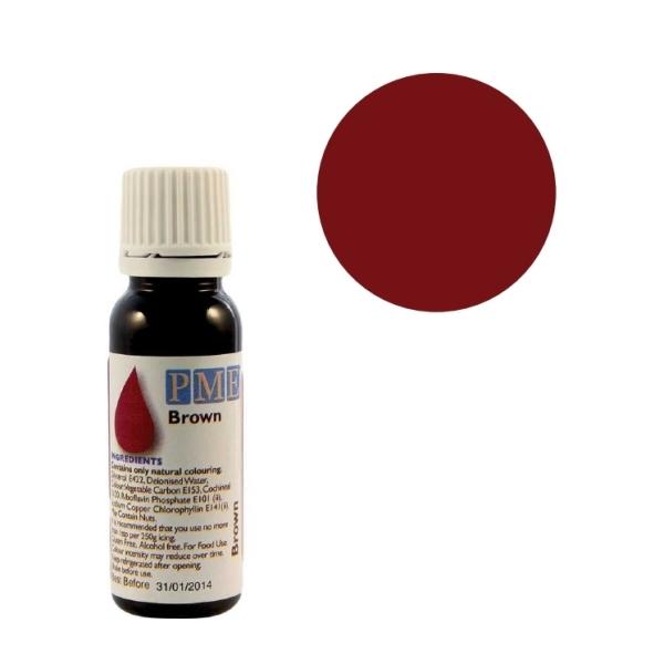 Colorant naturel liquide - marron - 25 gr - Photo n°1