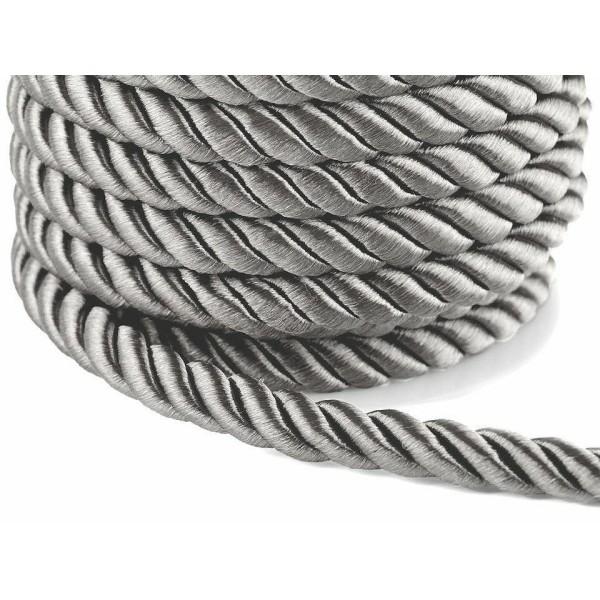 10m 7 Gris corde / Corde de Ø10mm, Cordon de Soutache, Cordon Macrame, Cordon de la Décoration, de l - Photo n°1