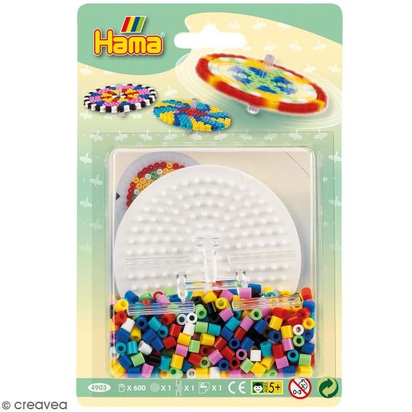 Kit Perles Hama Midi - Toupie - Photo n°1