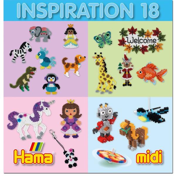 Livre Inspiration 18 - Hama midi - Photo n°1