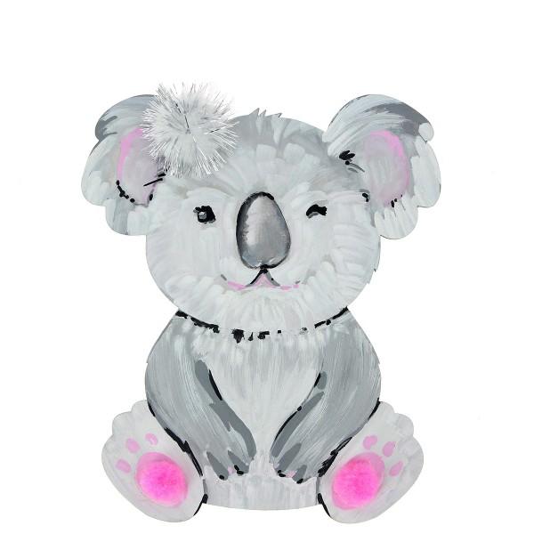 Grand Koala en bois - 15 cm - Photo n°2