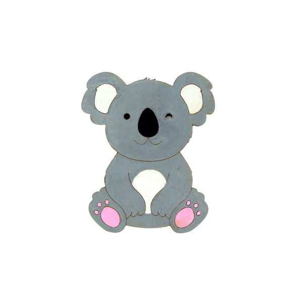 Petit Koala en bois - 7 cm - Photo n°2