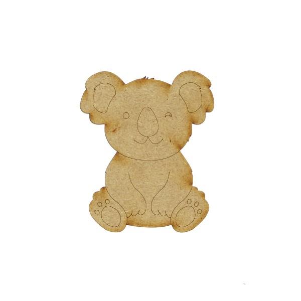 Petit Koala en bois - 7 cm - Photo n°1