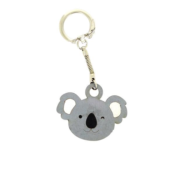 Tête de Koala en bois - 4 cm - Photo n°2