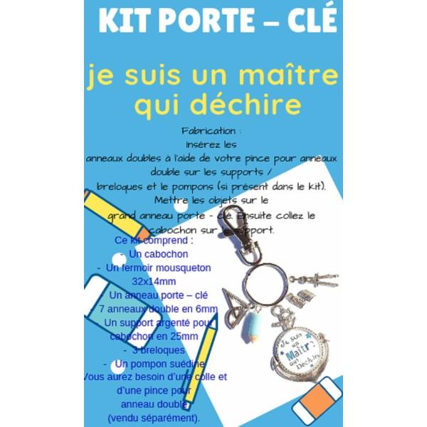 un Kit Porte - Clé  Je Suis Un Maître Qui Déchire - Photo n°1