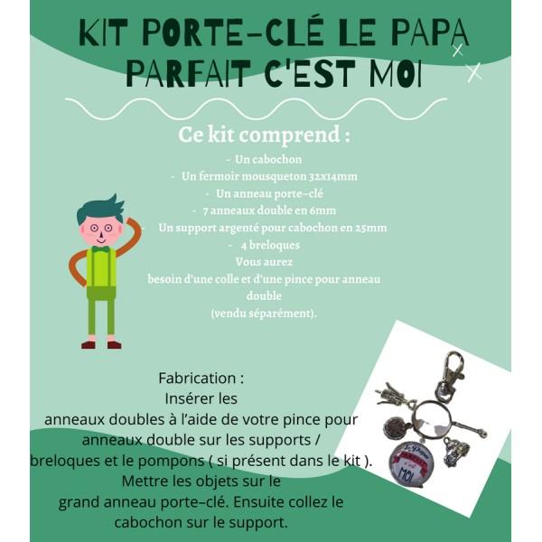 Le Papa Parfait c'est Moi Kit Porte-Clé - Photo n°1
