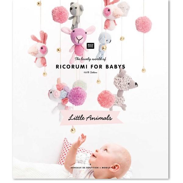 Livre crochet Ricorumi for babys - Litlle animals - 12 modèles - Photo n°1