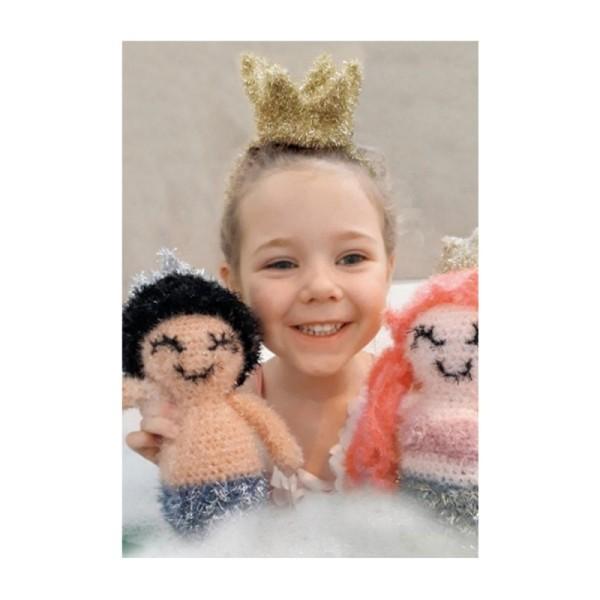 Livre Creative Bubble Eponges à crocheter - C'est l'heure du bain - 21 x 24 cm - Photo n°2