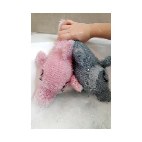 Livre Creative Bubble Eponges à crocheter - C'est l'heure du bain - 21 x 24 cm - Photo n°3