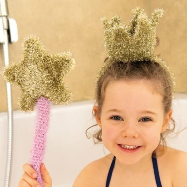 Livre Creative Bubble Eponges à crocheter - C'est l'heure du bain - 21 x 24 cm - Photo n°5