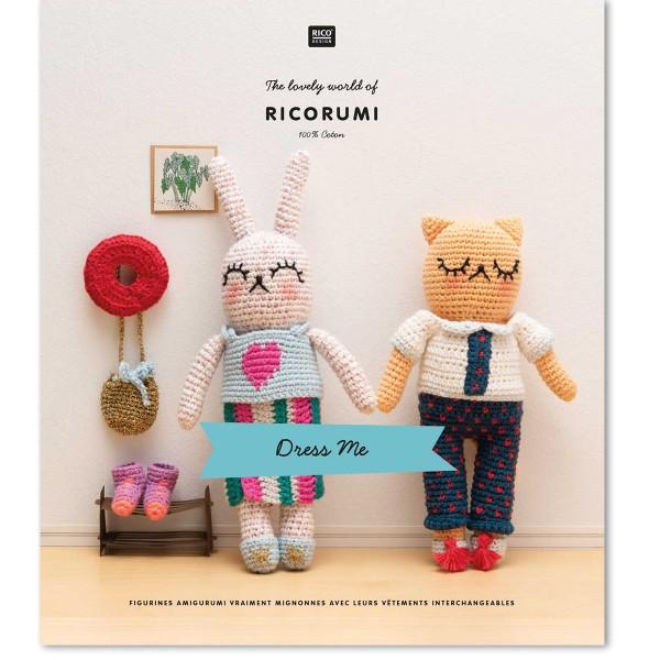 Livre crochet Ricorumi - Dress me - 8 modèles - Photo n°1