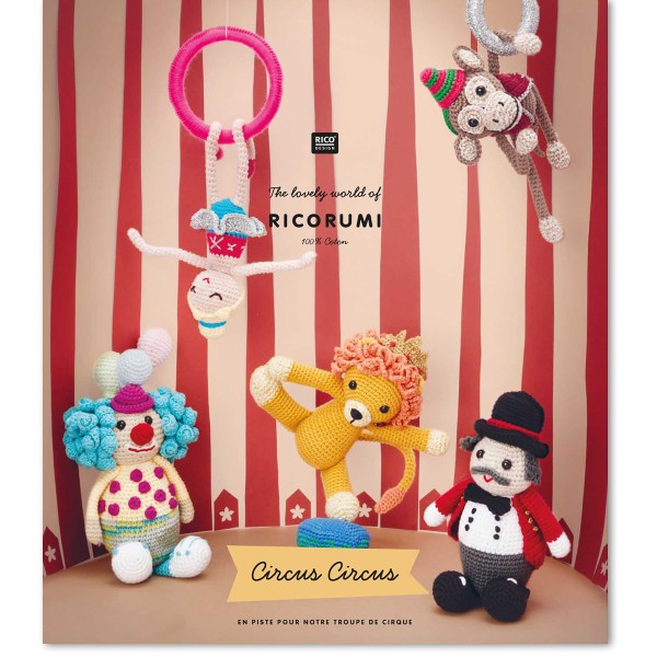 Livre crochet Ricorumi - Cirque - 7 modèles - Photo n°1