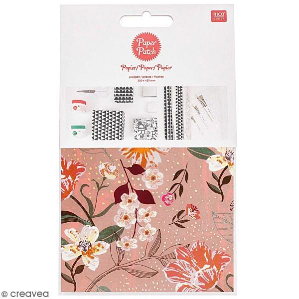 Papier Paper Patch Nature matters - Fleurs - 30 x 42 cm - 3 pcs - Photo n°1