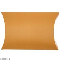 Grande pochette cadeau Pillow box - Moutarde - 48 x 28 cm - 1 pce