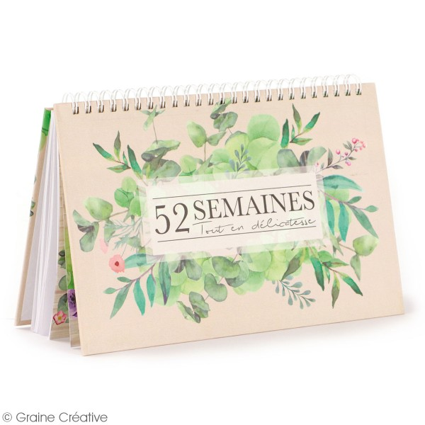 Desk Planner Botanique - Carnet et accessoires - Photo n°3