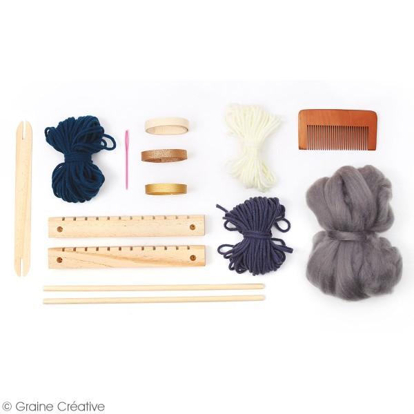 Kit métier à tisser - Petit modèle - 29 x 19 cm - Photo n°3