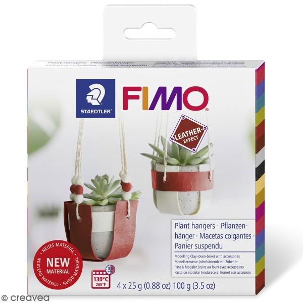 Kit DIY Fimo cuir - Suspension - Photo n°1