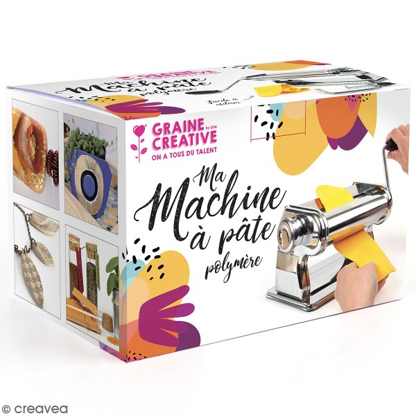 Machine à pâte à polymère - 14 cm - Photo n°1