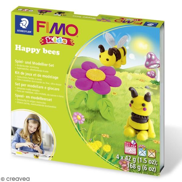 Kit pâte Fimo Kids - Abeilles - Photo n°1