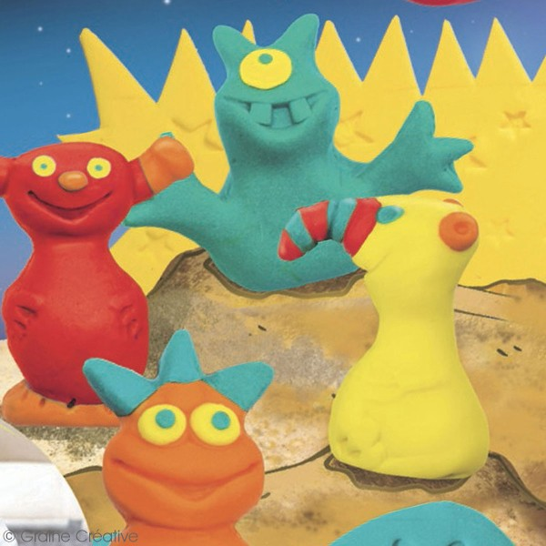 Kit pâte Fimo Kids - Extraterrestres - Photo n°2