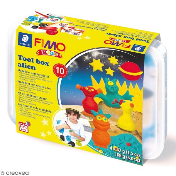 Kit pâte Fimo Kids - Extraterrestres - Photo n°1