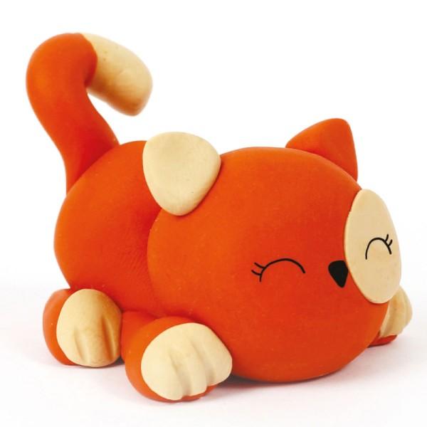 Mini Kit figurine Fimo - Chat - Photo n°2