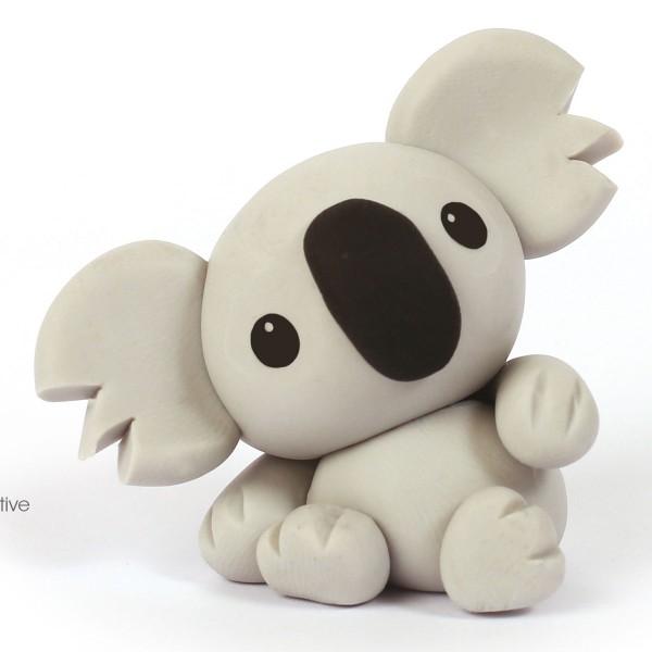 Mini Kit figurine Fimo - Koala - Photo n°2