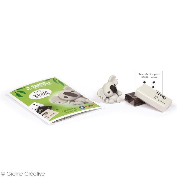 Mini Kit figurine Fimo - Koala - Photo n°3