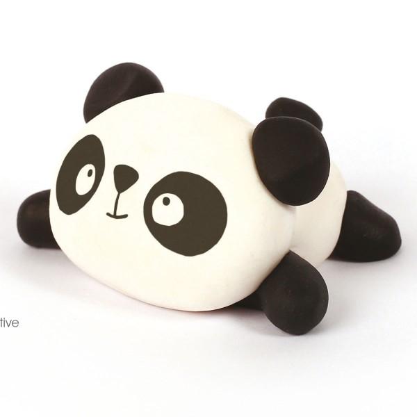 Mini Kit figurine Fimo - Panda - Photo n°2