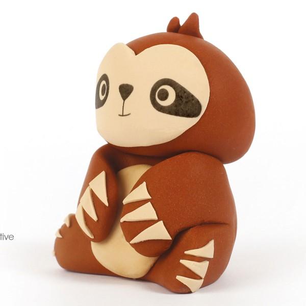 Mini Kit figurine Fimo - Paresseux - Photo n°2
